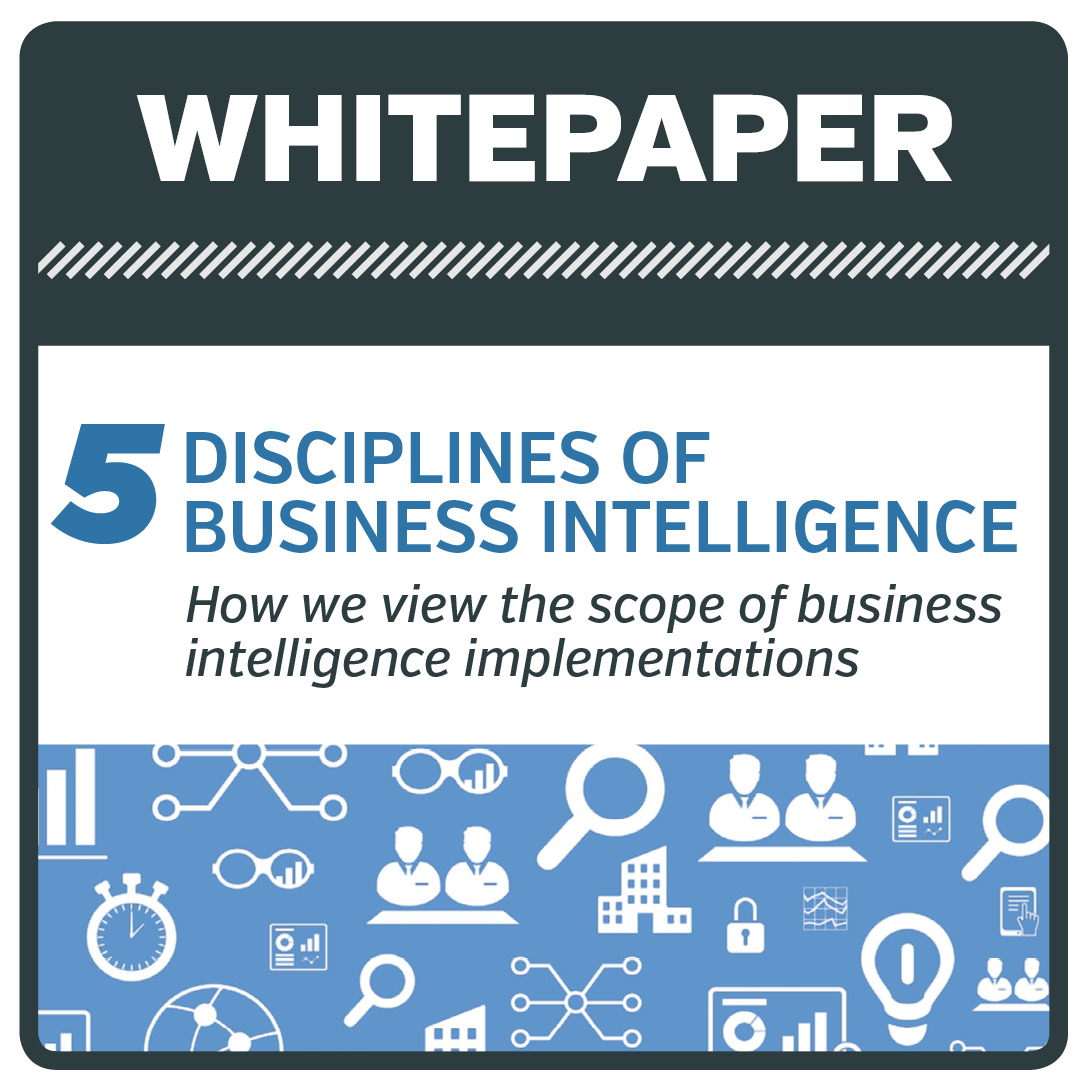 5 Disciplines of Busines Intelligence