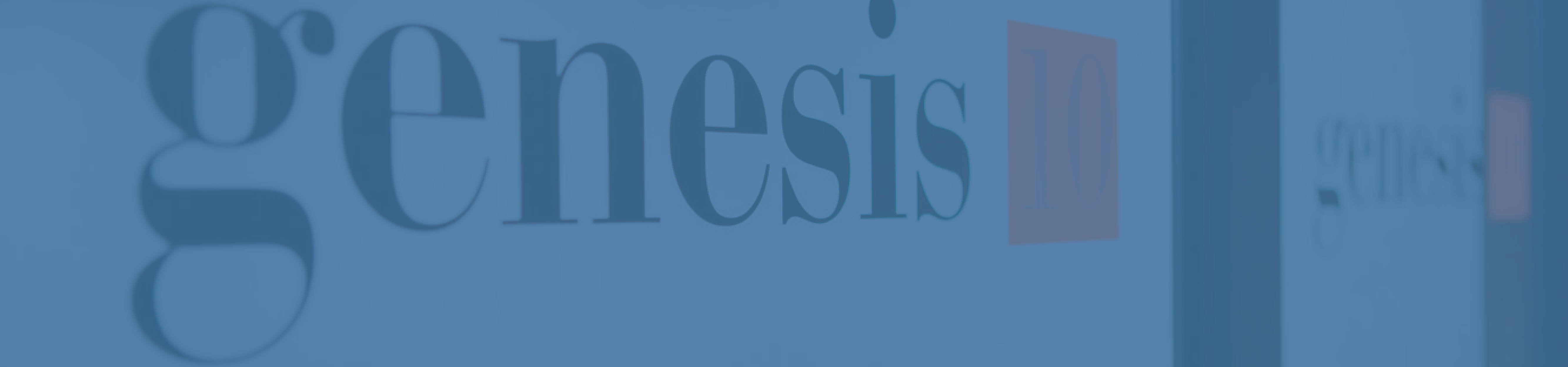 Subscribe to the Genesis10 Blog