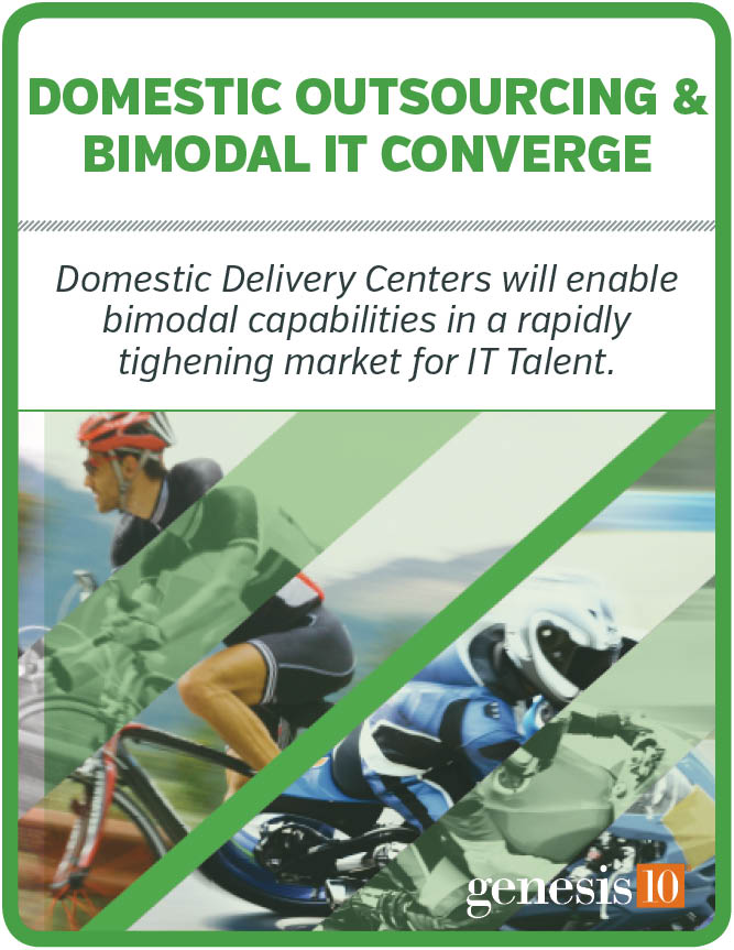 Domestic Outsourcing and Bimodal IT Coverge
