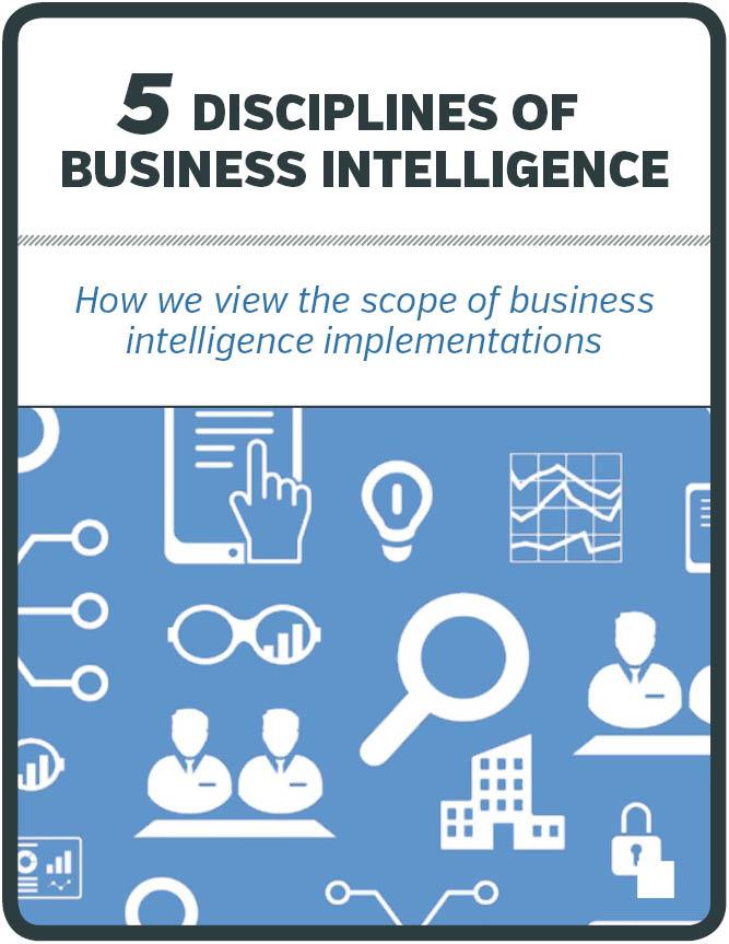 5 Disciplines of Business Intelligence - Whitepaper