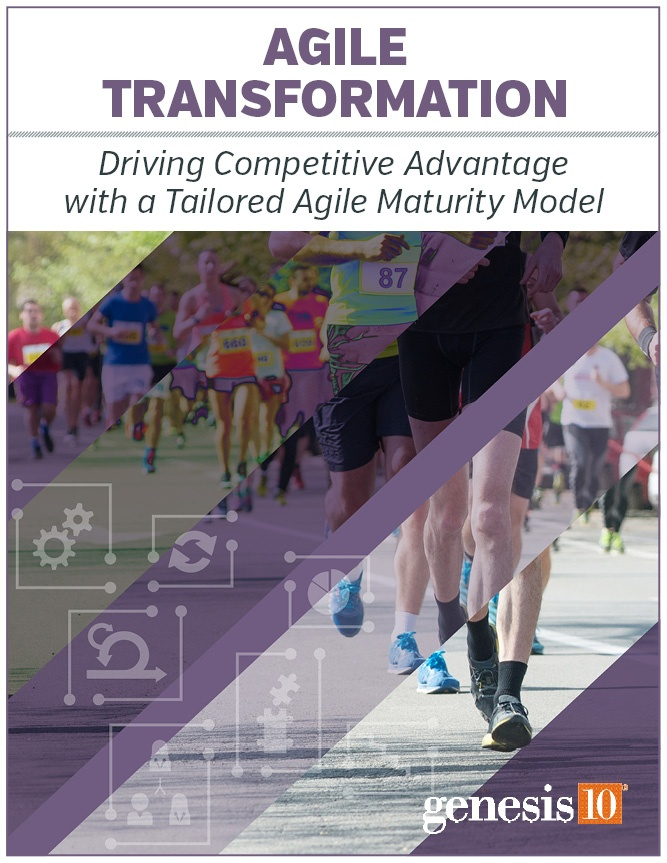 Genesis10 Whitepaper - Agile Transformation
