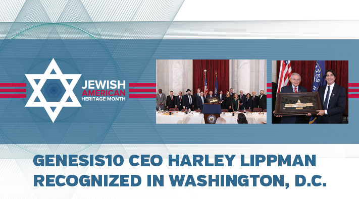 Blog Genesis10 CEO Harley Lippman Recognized in Washington, D.C.