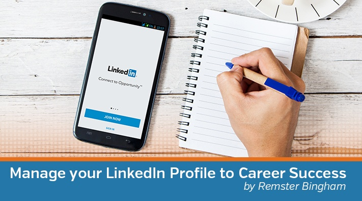 Manage your LinkedIn Profile to Career Success