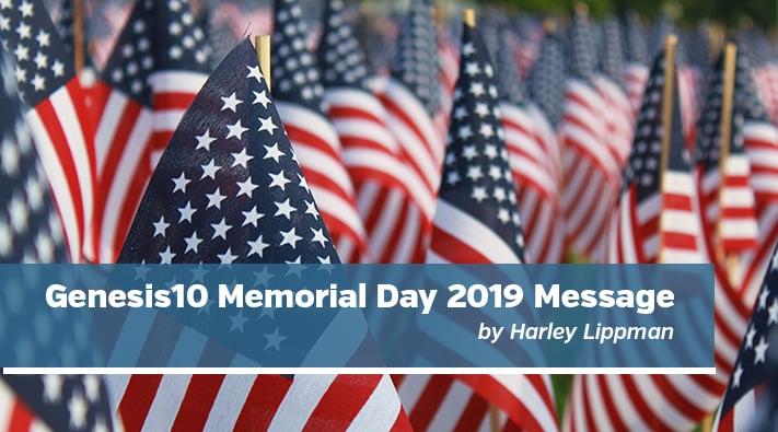 Blog memorial day message