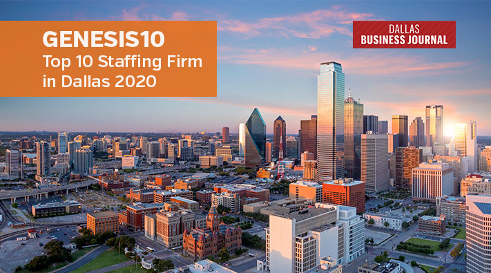 Genesis10 Top Staffing in Dallas, Dallas Business Journal