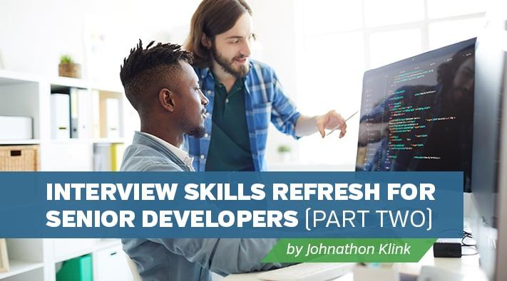 Blog__Interview Skills for Software Developers Part 2