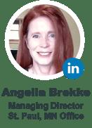 Angelia Brekke, Managing Director, St. Paul, MN Office