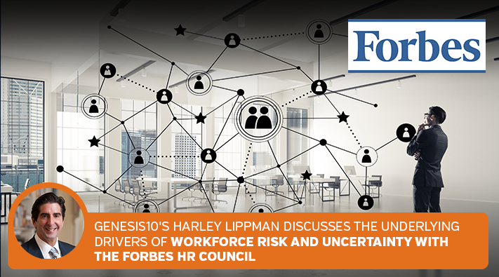 Forbes HR Council Genesis10 CEO Harley Lippman