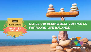 LinkedIn Comparably_work life balance 2019