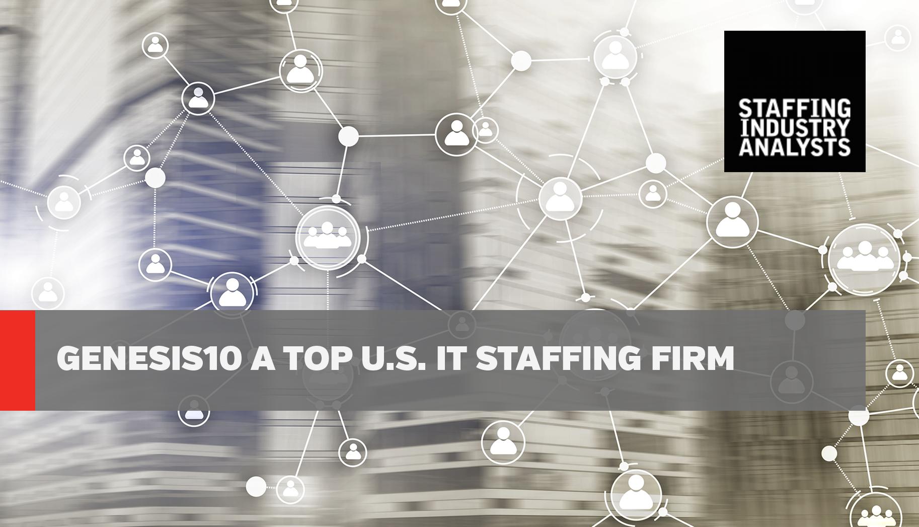 LinkedIn SIA Genesis10 a Top U.S. IT Staffing Firm