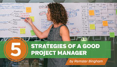 LinkedIn_5 Strategies of a Good Project Manager