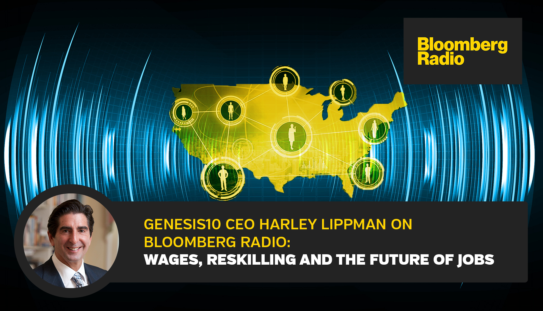 LinkedIn_Harley Lippman on Bloomberg Radio Wages, Reskilling and the Future of Jobs