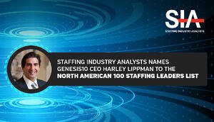 LinkedIn_Staffing Industry Analysts Harley North American 100 Staffing Leaders List