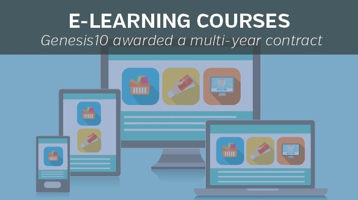 Instructional Design Solutions, Genesis10 awarded a multi-year contract