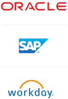 Oracle, SAP, Workday