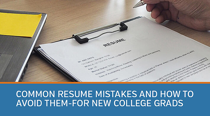Common resume mistakes and how to avoid them-for new college grads