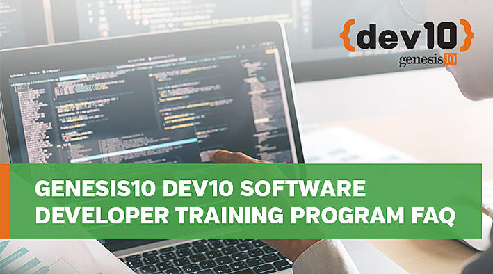 Genesis10 Dev10 Software Developer Training Program FAQ