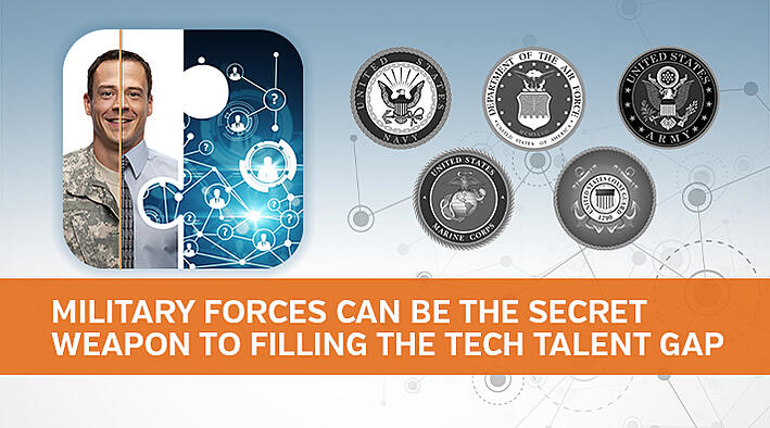 Military Forces Can Be the Secret Weapon to Filling the Tech Talent