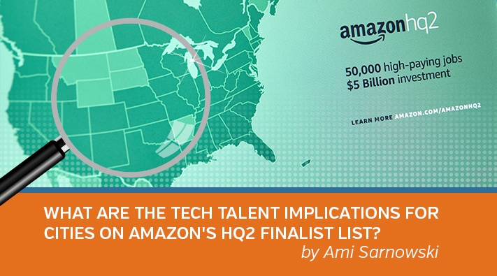 What are the Technology Talent Implications for Cities on Amazon's