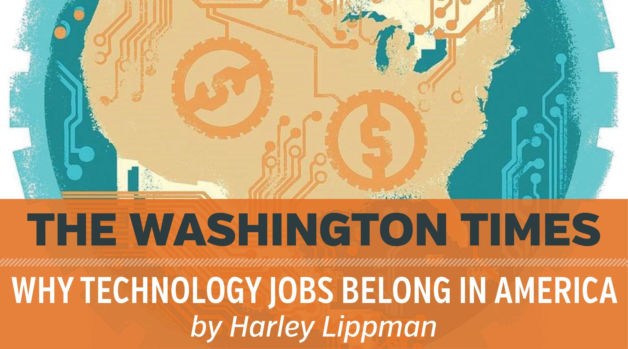 Why Technology Jobs Belong in America  - The Washington Times, Genesis10