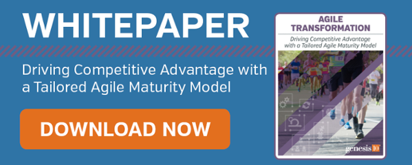 Agile Whitepaper: Driving Competitive Advantage with a Tailored Agile Maturity Model