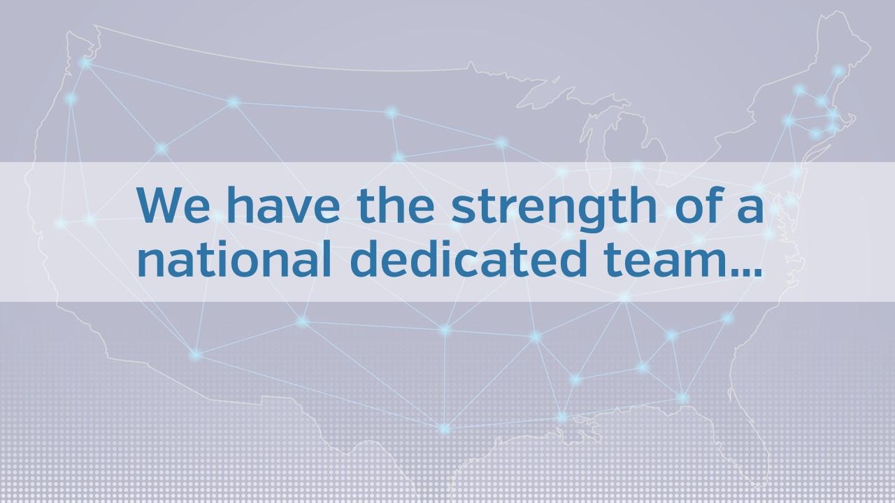 National dedicated team