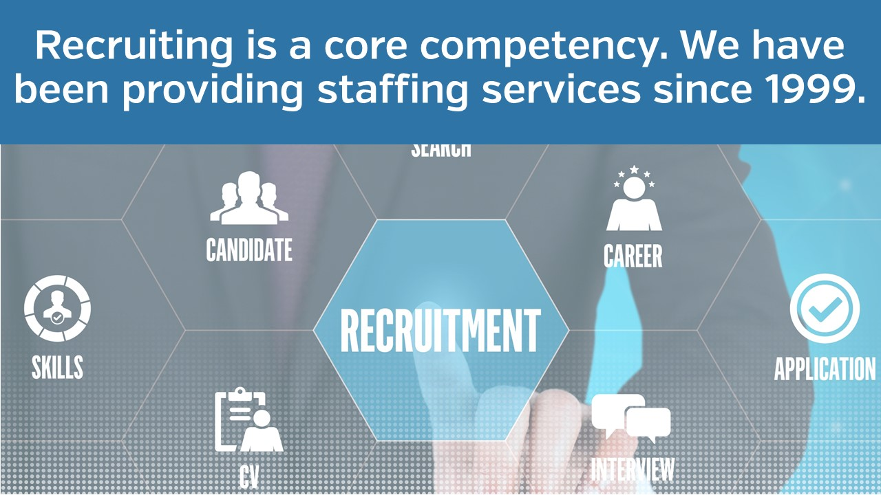 Recruiting is a core competency