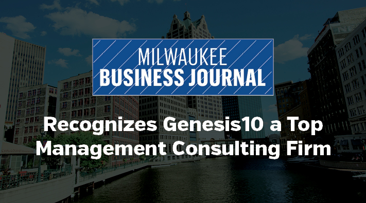 Milwaukee Business Journal Recognizes Genesis10 as a Top Management Consulting Firm