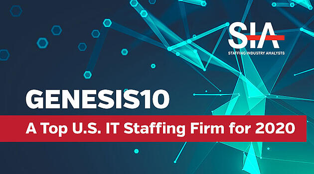 GENESIS10 A TOP U.S. IT STAFFING FIRM, STAFFING INDUSTRY ANALYSTS
