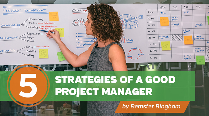 Blog_5 Strategies of a Good Project Manager
