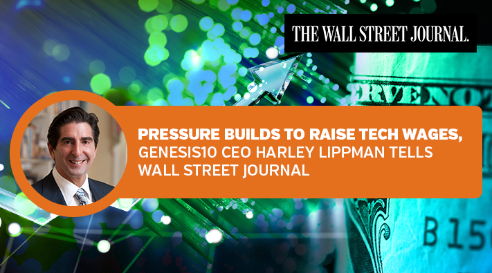 Genesis10 CEO Lippman on IT Wages