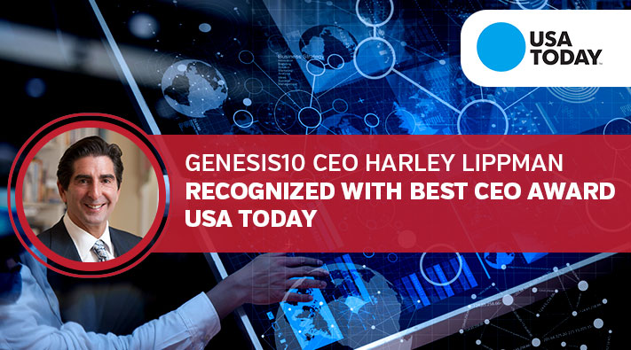 Genesis10 CEO Harley Lippman Recognized with Best CEO Award, USA Today