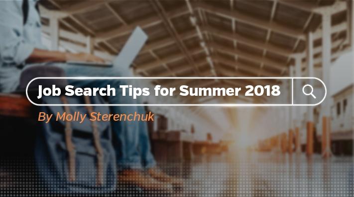 Job Search Tips 2018