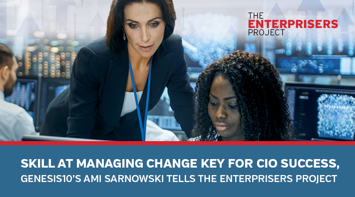 Skill at Managing Change Key for CIO Success