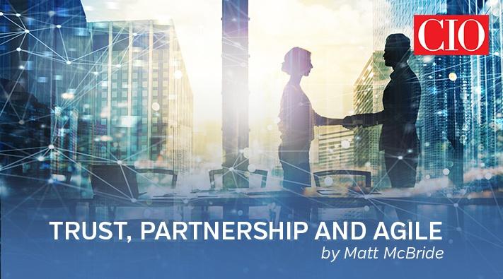 Trust, partnership, and Agile