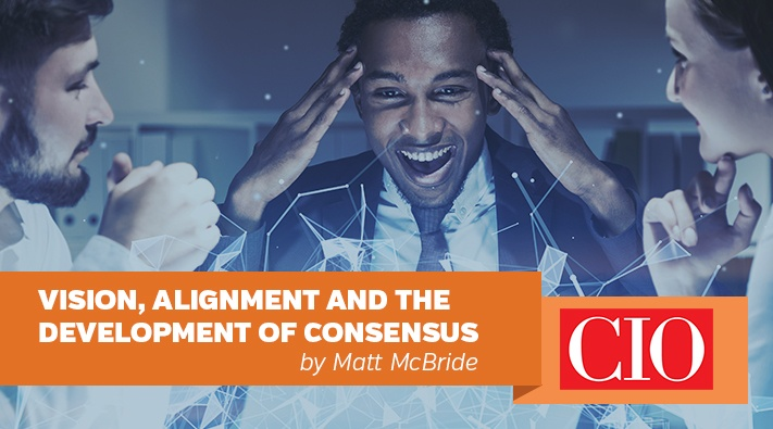 Vision, alignment and the development of consensus