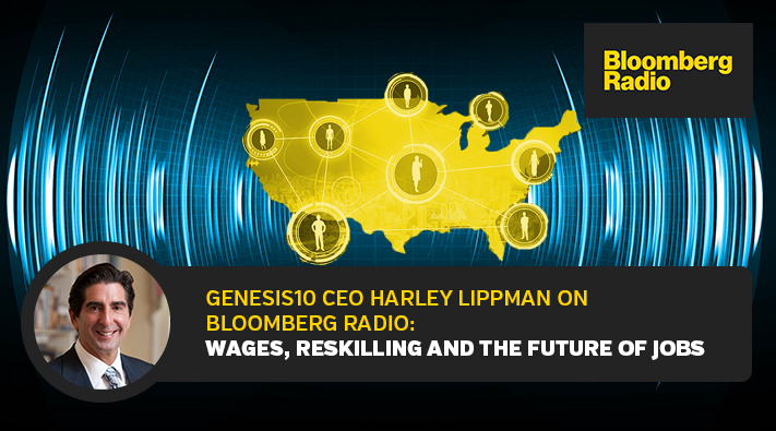 Harley Lippman on Bloomberg Radio Wages, Reskilling and the Future of Jobs