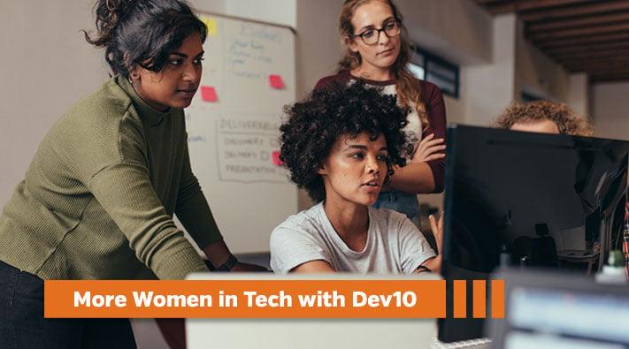 How DEV10 helps meet diversity goals for hiring women in tech