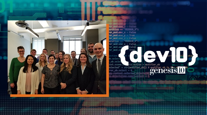 Genesis10 Selects First Group of Dev10 Consultants to Train as Software Developers