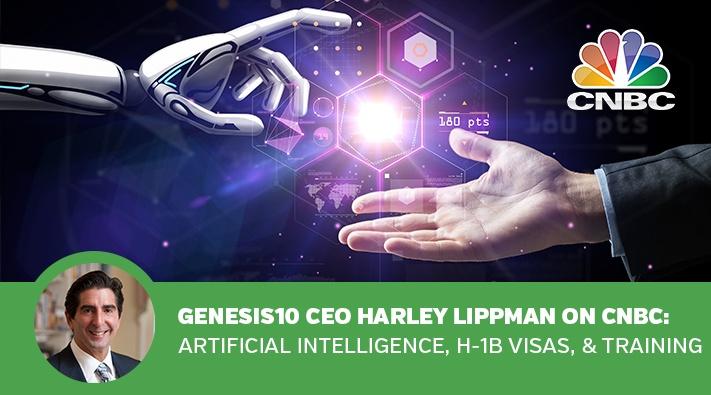 Harley Lippman on CNBC, Artifical Intelligence, H-1B Visa, Training