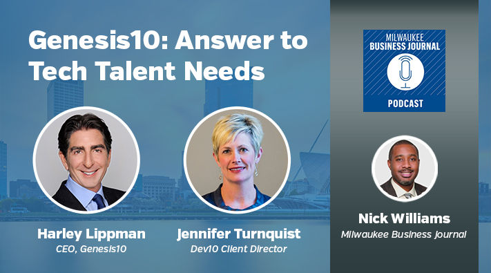 Genesis10: answer to tech talent needs, Milwaukee Business Journal Podcast