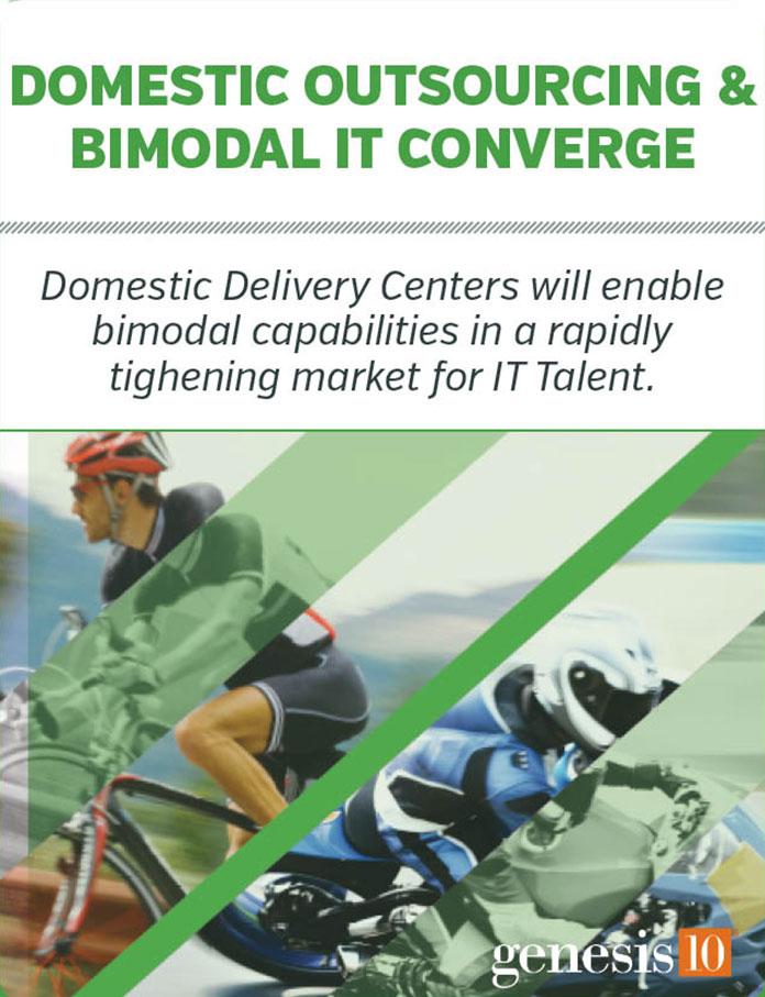Domestic Outsourcing & Bimodal IT Converge