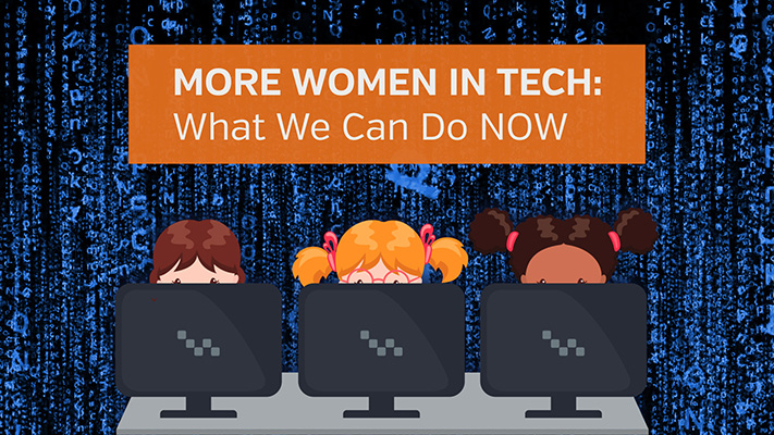 More women in tech: what we can do now
