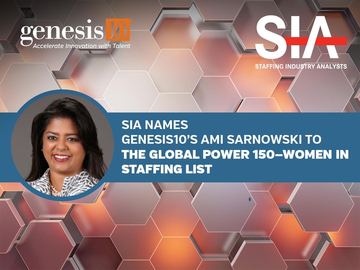 Genesis10 Ami Sarnowski SIA