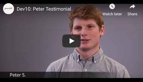 Peter Testimonial